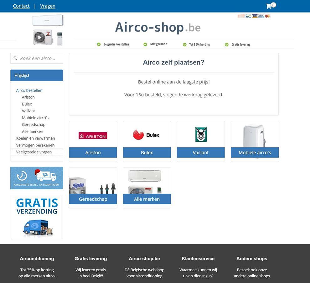 www.Airco-shop.be