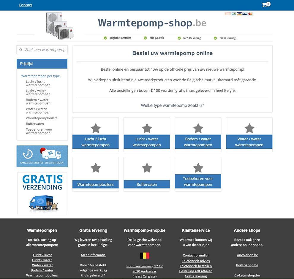 www.Warmtepomp-shop.be