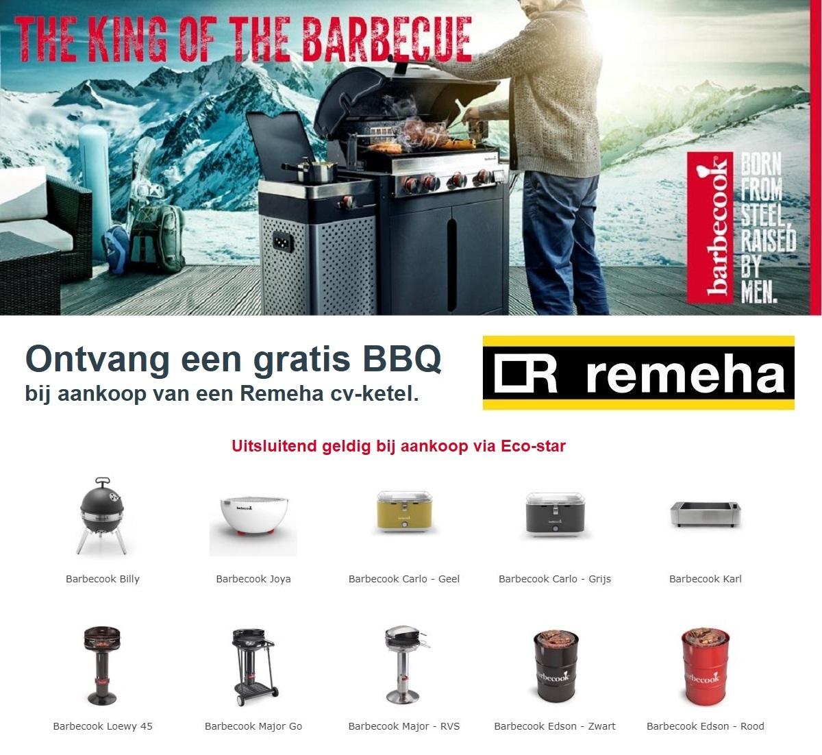 Barbecook BBQ actie