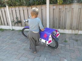 Kinder fietstas dubbel