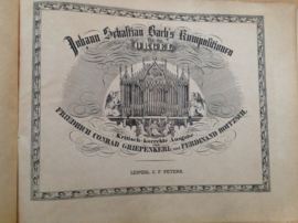 Johann Sebastian Bach Kompositionen für die Orgel , Band V. - F.C. Griepenkerl / F. Roitzsch