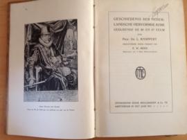 Geschiedenis der Nederlandsche hervormde kerk gedurende de 16e en 17e eeuw, deel 1  -  L. Knappert