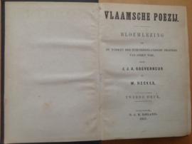 Vlaamsche poezij - J.J.A. Gouverneur / W. Hecker