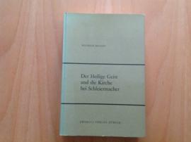 Der Heilige Geist und die Kirche bei Schleiermacher - W. Brandt