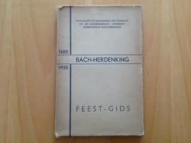 Bach-herdenking 1685-1935 - feestgids