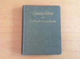 Gedachten van Frederik van Eeden - L.J.C. van Vliet-van Dam