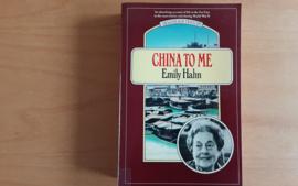 China to me - E. Hahn