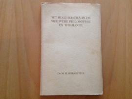 Het ik-gij schema in de nieuwere philosophie en theologie - M.H. Bolkesteein