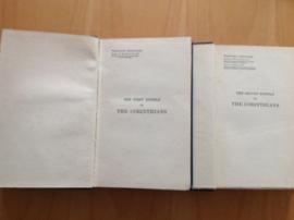 Pakket a 2 boeken: The first / second Epistle to the Corinthians - H.L. Goudge