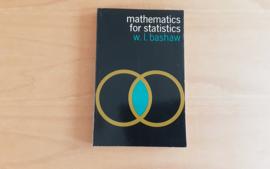 Mathematics for statistics - W.L. Bashaw
