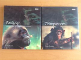 Set a 2 boeken over apen - L. Barret / T. Constable