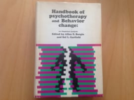 Handbook of psychotherapy and behavior change - A.E. Bergin / S.L. Garfield
