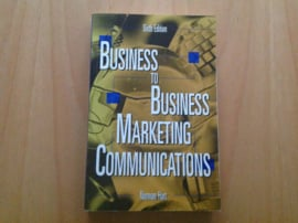 Business-to-Business marketing communications - N. Hart