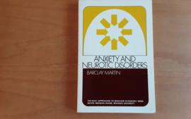 Anxiety and neurotic disorders - B. Martin