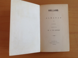 Holland. Almanak voor 1865 - J. van Lennep