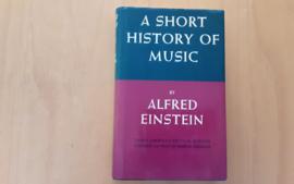A short history of music - A. Einstein