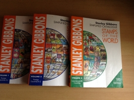 Stamps of the world, simplified catalogue  in 3 volumes - S. Gibbons