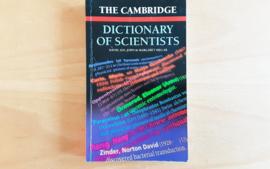 The Cambridge Dictionary of Scientists - D. Millar / I. M illar / J/ Millar / M. Millar