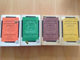 Pakket a 4x American Literature Survey - M.R. Stern / S.L. Gross