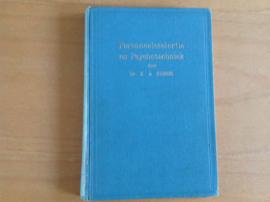Personeelsselectie en Psychotechniek - R.A. Biegel