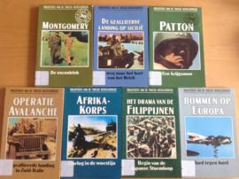 Pakket a 15x Bibliotheek van de Tweede Wereldoorlog