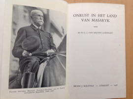 Onrust in het Land van Masaryk - G.J. van Heuven Goedhart