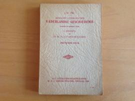Beknopt leerboek der vaderlandse geschiedenis - J.W. Pik