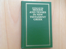 Syntax of the Moods and Tenses in New Testament Greek - E. de Witt Burton