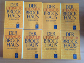 Der Literatur Brockhaus in 8 Bänden - W. Habicht / W.-D. Lange