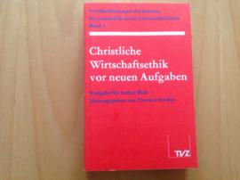 Christliche Wirtschaftsethik vor neuen Aufgaben - T. Strohm