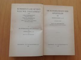 De Handelingen der Apostelen II - F.W. Grosheide