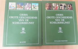 Set a 2x Orbis Grote Geschiedenis van de Schilderkunst / J. Lassaigne