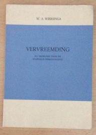 Vervreemding - W.A. Wiersinga