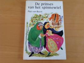 De prinses van het spinnewiel - P. van Beest