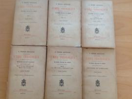 Summa theologica, 6 boeken - S. Thomae Aquinatis