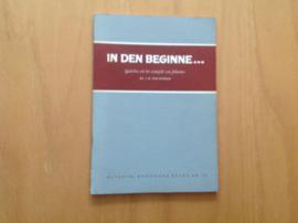 In den beginne ...  - J.M. van Minnen