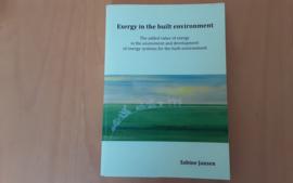 Exergy in the built environment - S. Jansen