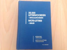 35.000 Letterwoorden, initiaalwoorden. Mots-lettres, sigles ...  - M.R. Withouck