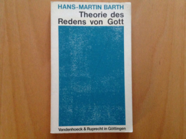 Theorie des Redens von Gott - H.-M. Barth