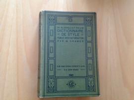 Dictionnaire de style a l'usage des Neerlandais - A. Reum