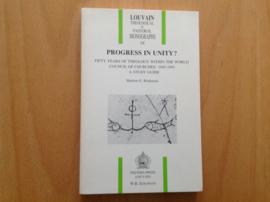 Progress in Unity? - M.E. Brinkman