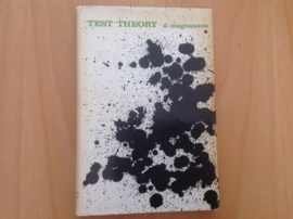 Test theory - D. Magnusson