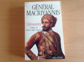 Memoires - General Macriyannis