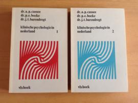 Klinische psychologie in Nederland, deel 1 en 2 - A.P. Cassee / P.E. Boeke / J.T. Barendregt