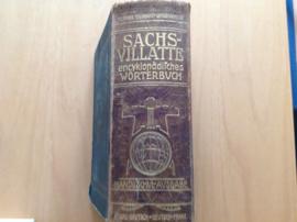 Sachs-Villatte Enzyklopädisch Fr-D und D-Fr. Wörterbuch - K. Sachs