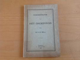 Concentratie van het onderwijs - W.A.W. Moll