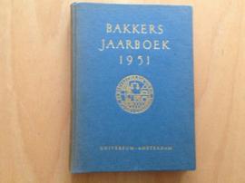 Bakkers jaarboek 1951 - J. van der Lee / H. Menkveld / R. Postuma