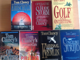 Pakket a 7x Tom Clancy - pakket B - T. Clancy