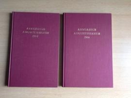 Set a 2 boeken: Annuarium Augustinianum 1967 en 1968