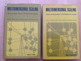 Multidimensional scaling, 2 volumes - R.N. Shepard / A.K. Romney / S.B. Nerlove